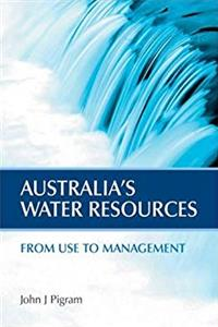 eBook Australia's Water Resources: From Use to Management epub