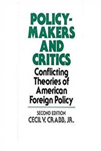eBook Policy-Makers and Critics epub