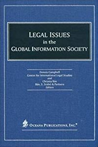 eBook Legal Issues in the Global Information Society epub