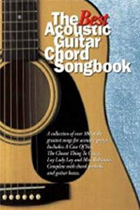 eBook The Best Acoustic Guitar Chord Songbook epub