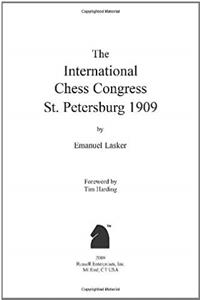 eBook The International Chess Congress St. Petersburg 1909 epub