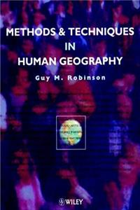 eBook Methods and Techniques in Human Geography epub