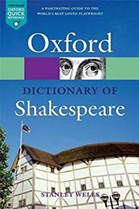 eBook A Dictionary of Shakespeare (Oxford Quick Reference) epub