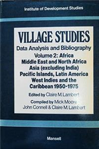 eBook Village Studies: Data Analysis and Bibliography, Vol. 2, Africa, Middle East and North Africa, Asia epub